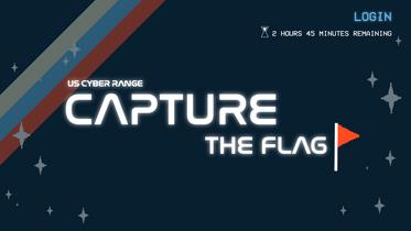 Capture the Flag Website Layout Design