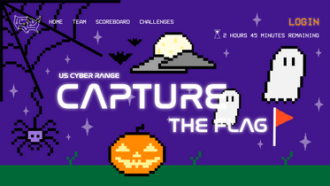 Capture the Flag Website Halloween Background