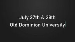 VA Cyber Range Conference Announcement Video