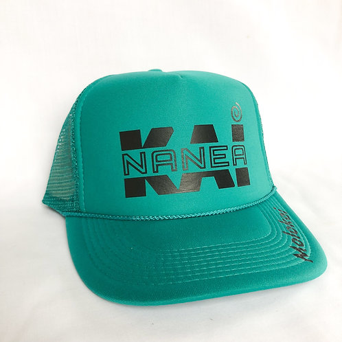 Trucker Hat- Emerald Green