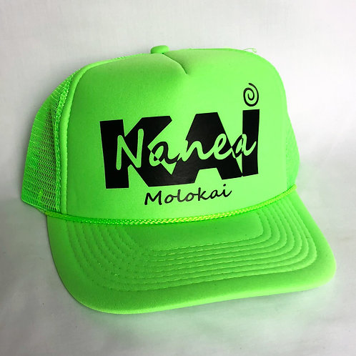 Trucker Hat- Highlighter Green