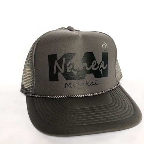 Trucker Hat- Charcoal Grey