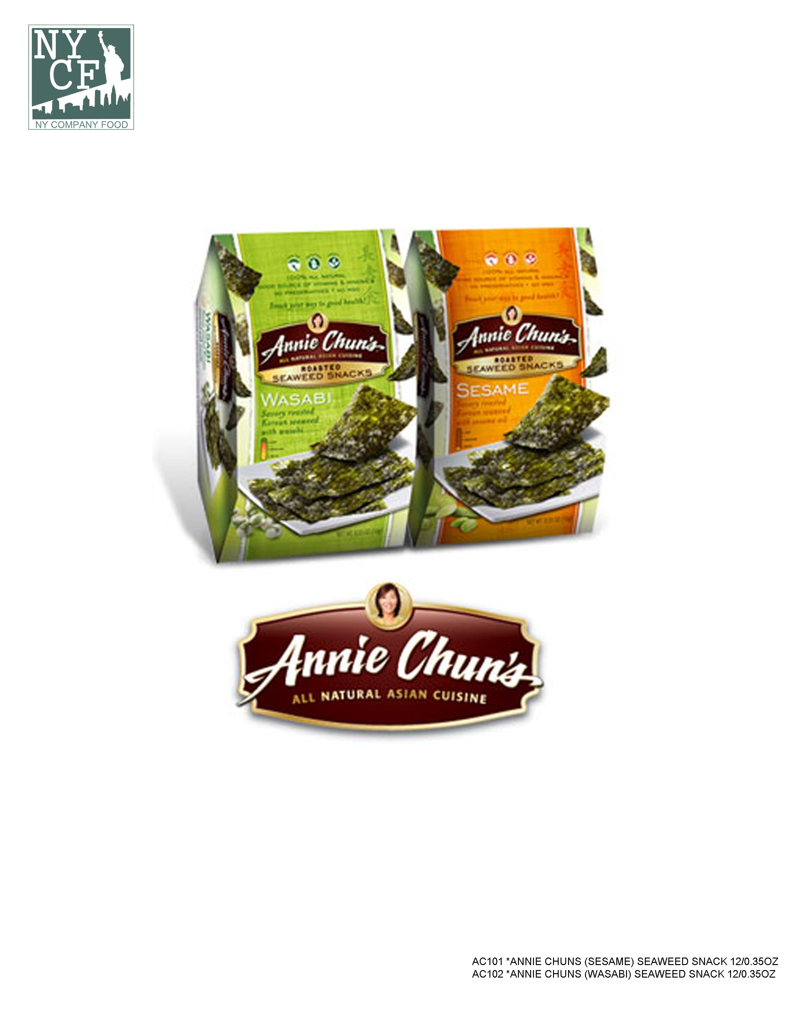 ANNIE CHUNS