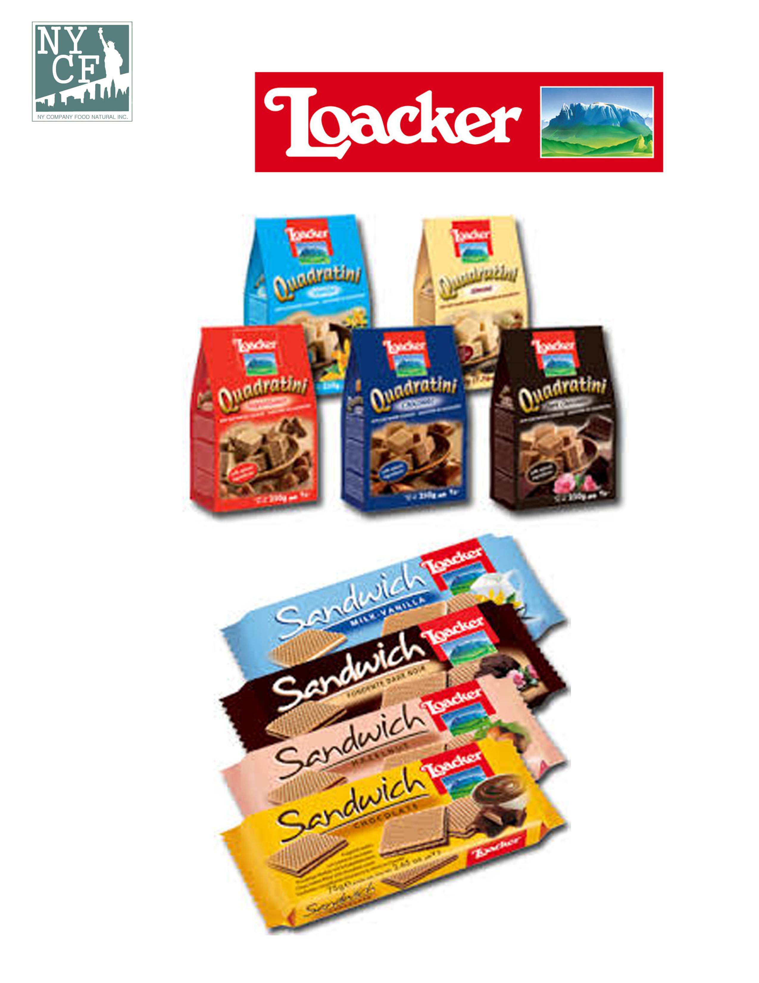 LOACKER SANDWICH