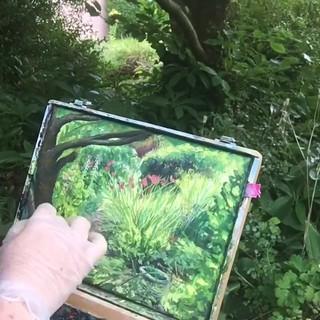 Secret Garden, Devon#timelapse#paintingd