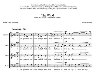 THE WIND (SATB)