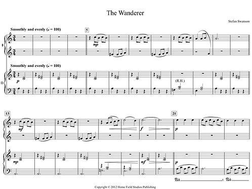 THE WANDERER (4 hands)