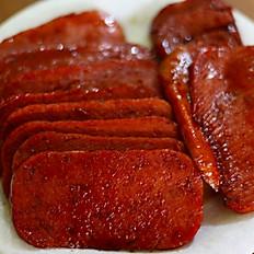 Spam or Portuguese Sausage スパムまたはポルトガルのソーセージ