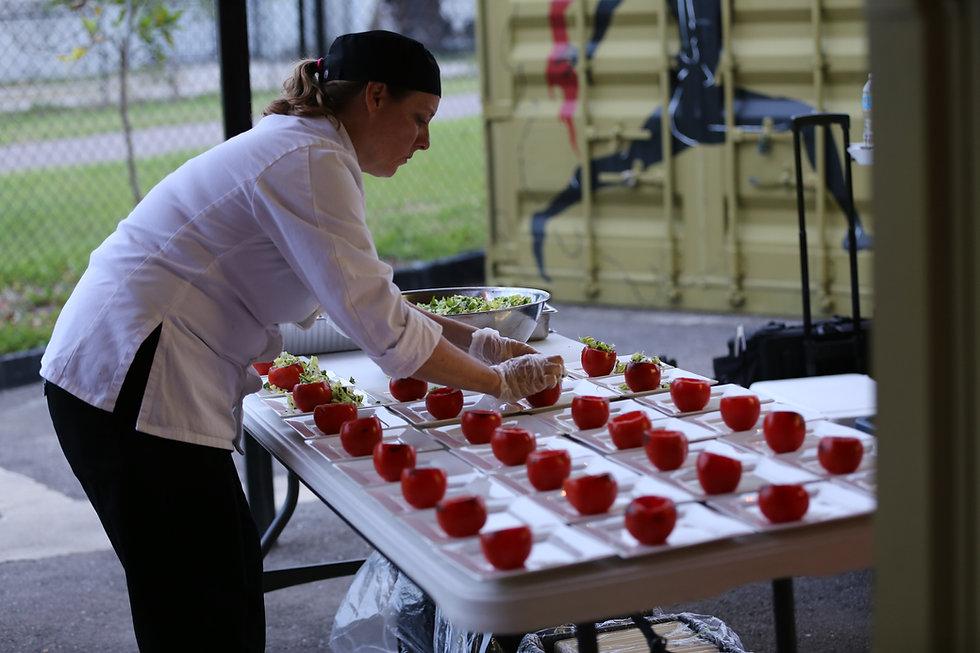 wedding catering St. Petersburg