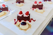 Dessert options for wedding catering, corporate catering, event catering in St. Petersburg and Tampa