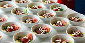 corporate catering, event catering, and wedding catering appetizers
