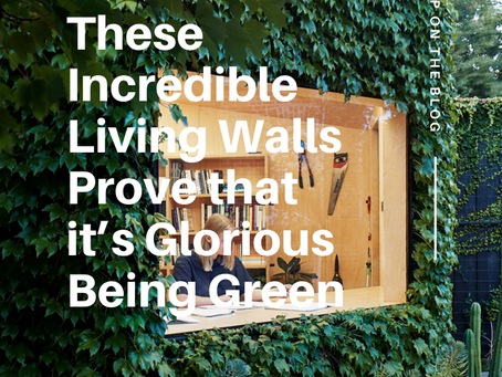 These Incredible Living Walls Prove that it's Glorious Being Green