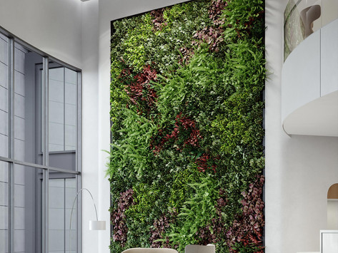 Reimagining the Future Workplace with Living Walls