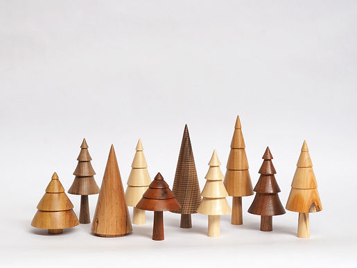 Wooden Trees