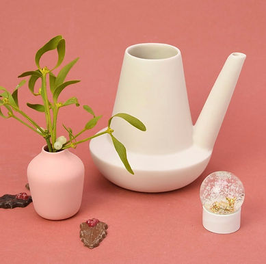 Porcelain Jug Watering Can