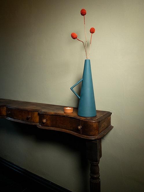 Farve Vase: Blue