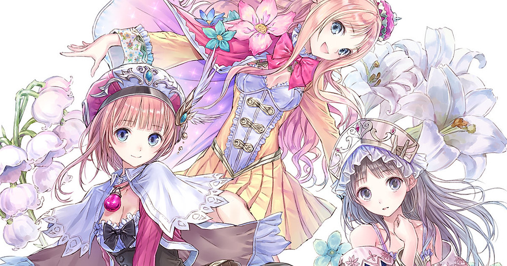 from left to right: Rorona, Meruru and Totori