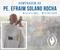 Homenagem ao Pe. Efraim Solano Rocha