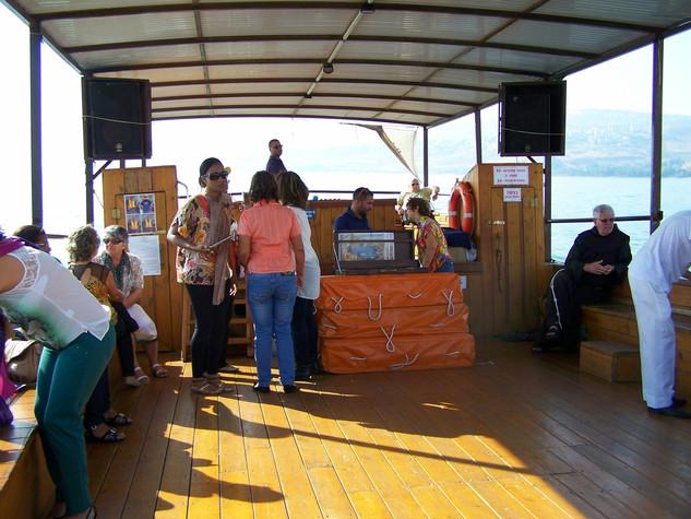 Picasa - Travessia de Barco no Mar da Ga