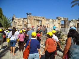Picasa - Em Cafarnaum (no fundo a sinago