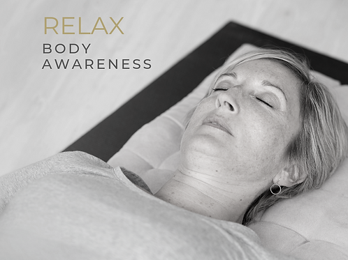RELAX  |  Body Awareness eCourse - COMING SOON