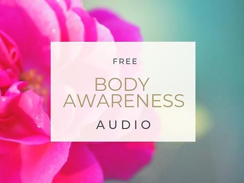 FREE Body Awareness Audio