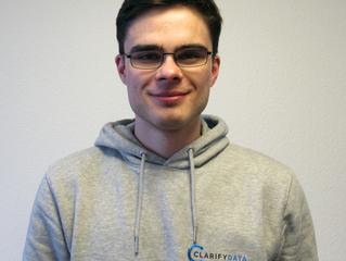 Das Team von clarifydata stellt sich vor – heute: Alex, Softwareentwickler und Data Scientist