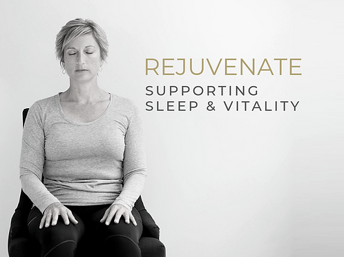 REJUVENATE  |  Supporting Sleep & Vitality eCourse - COMING SOON