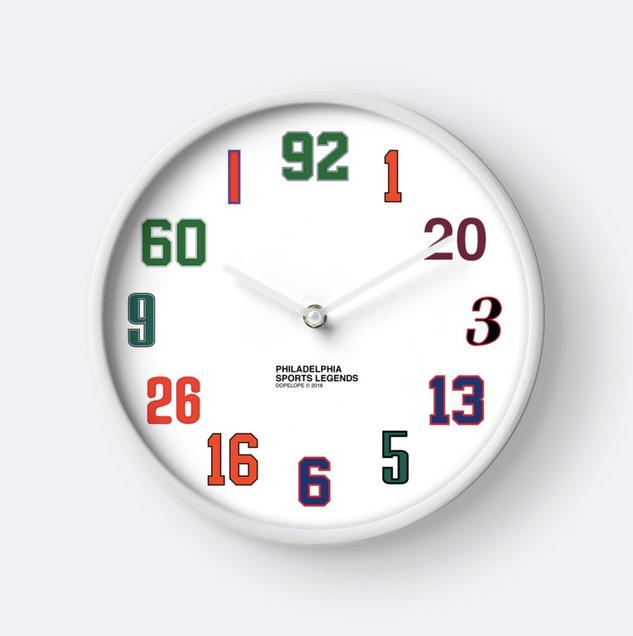 Philadelphia Sports Legends Clock (2017)