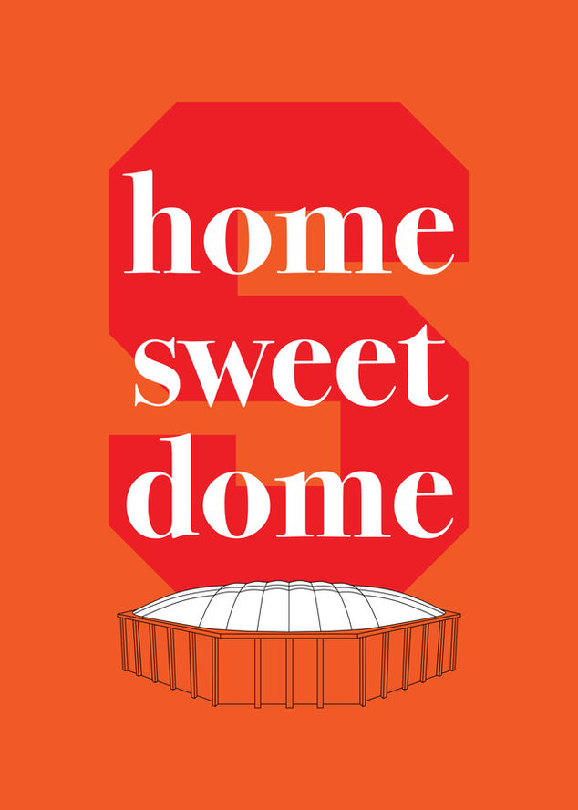 Carrier Dome Poster (2018)