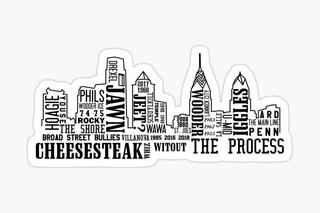 Philadelphia Slang Skyline (2017)