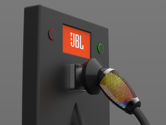 JBL-Inspired Electric Charger (2016)