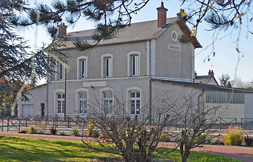 Photo de l'ancienne gare de Cour Cheverny