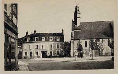 Vieille photo de Cour-Cheverny