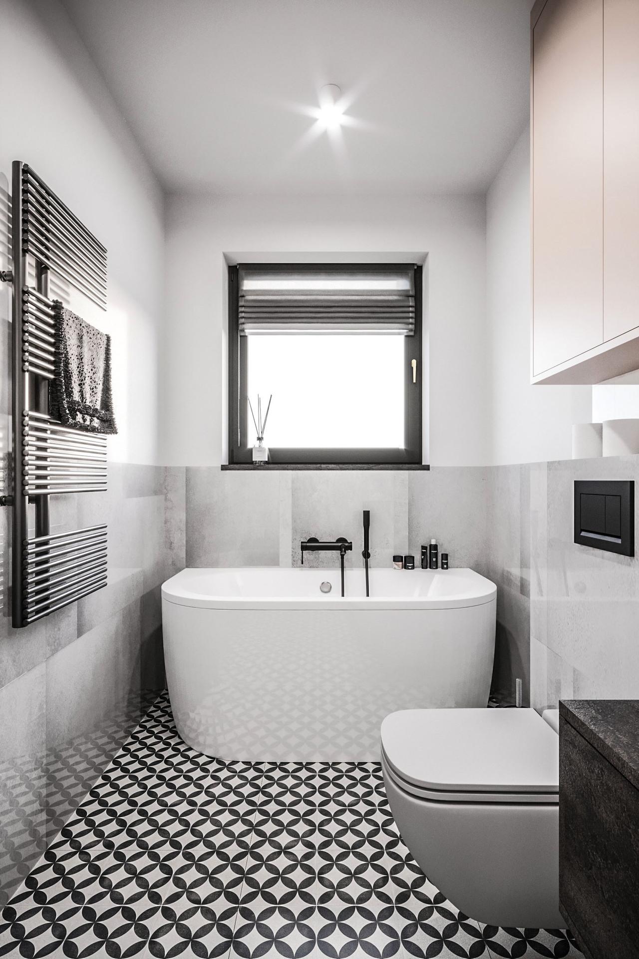 Bathroom with a loft touch