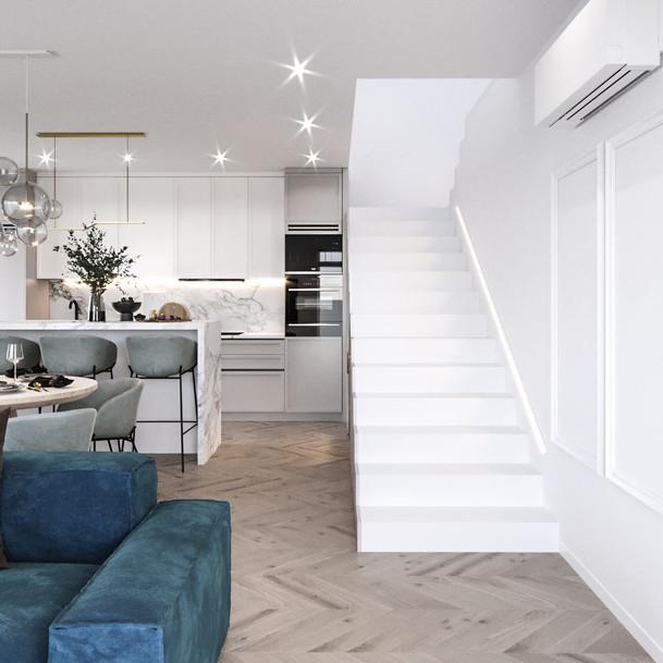 A modern single-family house in Krakow