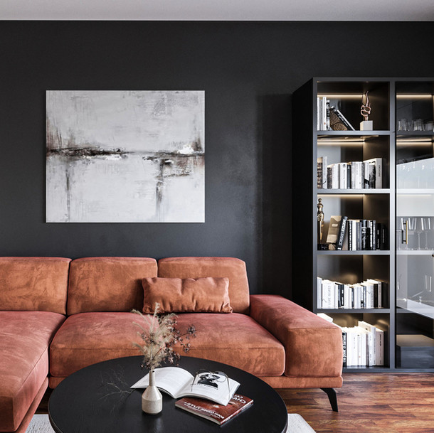 Standard project of an apartment in Krakow