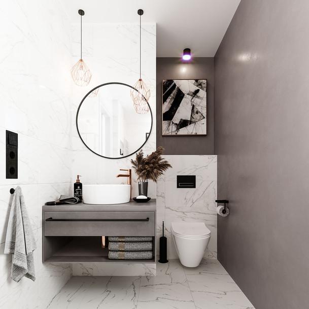 Bathroom in Powidz