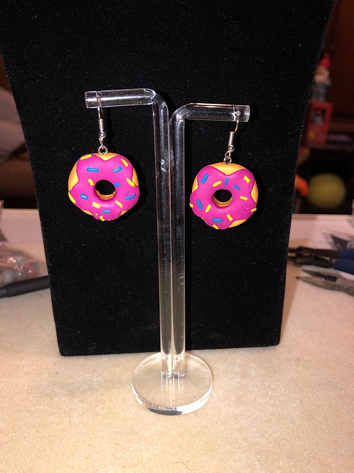 Doughnut Earings