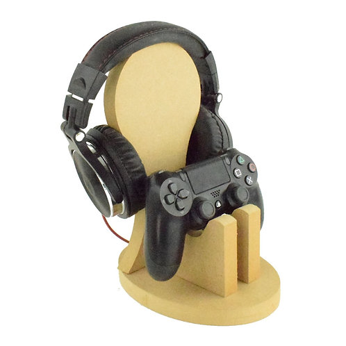 Controller and Headphone stand, gamer stand, Headset stand, personalised stand