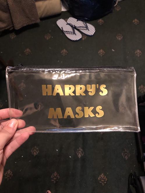 Mask pouches