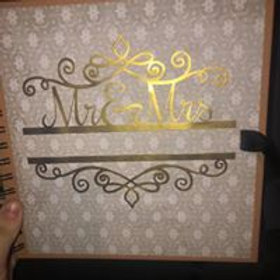 Personalized Scrapbooks 8x8 with backing