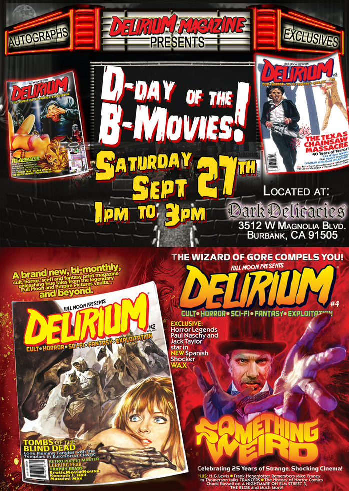 Join Me for D-DAY OF THE B-MOVIES 4