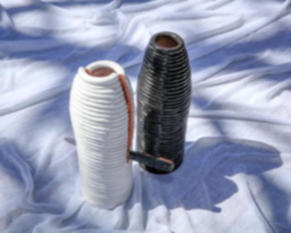 Reza Hosseiny - Conceptual Art - Ceramic Arts - Pottery - Suicide - handmadeceramic - Coil - Glaze - Ceramic Sculpture