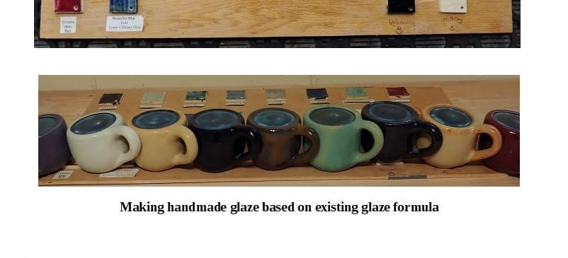 Handmade Glaz Test - Exsisting Formula - 2017 - تست لعابهای دست ساز