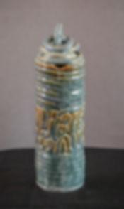 Reza Hosseiny - Conceptual Art - Ceramic Arts - persian Calligraphy - Poem - Pottery - Handmadeceramic - Coil - Glaze - Ceramic Sculpture