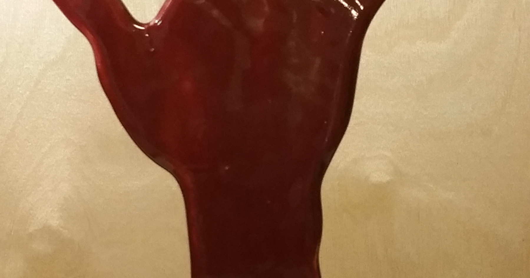 Red Right Hand Front - 2017 - جلوی دست راست قرمز