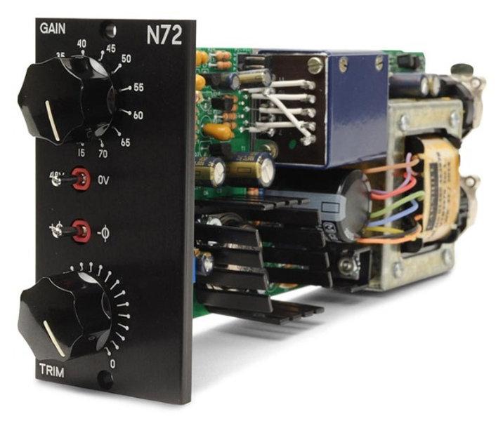 N72 mic preamp module