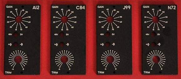 CH02-SP Faceplate Subpanel