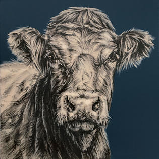 Cow on Hague Blue - £550